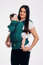Ergonomic baby carrier Toddler Lennylamb colour EMERALD