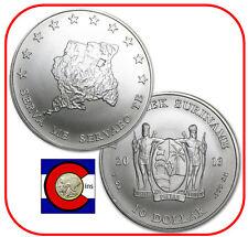 2013 Suriname 1 oz 0.999 Silver $10 Coin in airtite