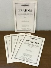 *Lot Of 15* Let Nothing Ever Grieve Thee by Brahms -Cf Peters Ttbb Choral Octavo