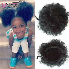 Cheap 2pcs Synthetic Ponytail Kinky Curly Drawstring with Clips in Free Shipping