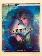 Final Fantasy X/X-2 HD Remaster Guida Ufficiale ITALIANA Rarissima! Nuova Sealed