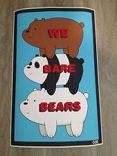We Bare Bears poster print