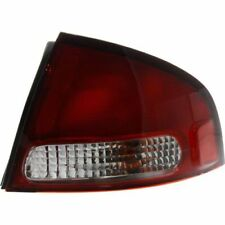 For Sentra 00-03, Passenger Side Tail Light, Clear and Red Lens
