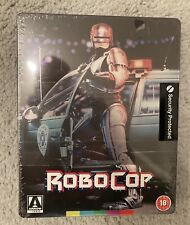ROBOCOP STEELBOOK BLU RAY PETER WELLER ARROW VIDEO 4K RESTORATION SEALED & NEW
