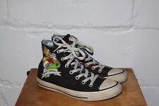 EUC Converse Chuck Taylor Bart Simpson Black Hi Top Sneakers Shoes Men Sz 6