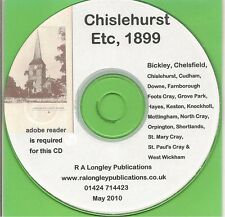 Chislehurst etc 1899 [Street Directory]
