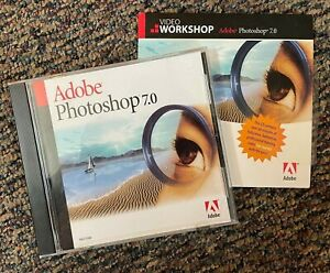 Adobe Photoshop 7.0 upgrade for Mac with Serial Number