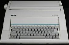 Royal Scriptor Ax150 Electronic Typewriter Tested Works Great