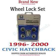 1996- 2000 Honda CIVIC HATCHBACK New Genuine Wheel Lock Set