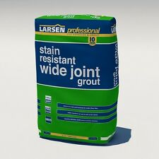 Larsen Professional Stain Resistant Wide Joint Grout 10 KG 2 mm to 20 mm - BEIGE