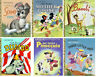 LITTLE GOLDEN BOOK Disney Collection Dumbo,Scamp,3 Pigs,Mother Goose,Pinocchio +