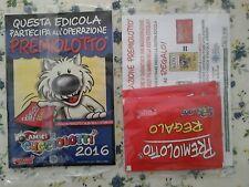10 Bustine amici cucciolotti 2016 PIZZARDI 1 TATOO + 1 FIGURINA SIGILLATO
