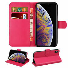 For Apple Iphone 6s 5C 6 -PU Genuine Leather Wallet Case License Slot Flip Cover