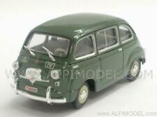 Fiat 600D Multipla Polizia Stradale 1960 1:43 BRUMM R451