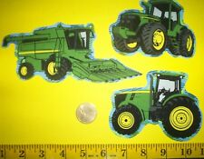 New! Cool! John Deere IRON-ONS FABRIC APPLIQUES IRON-ONS