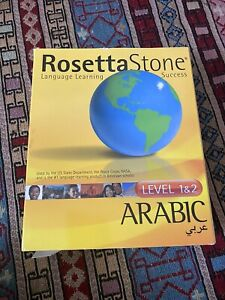 Rosetta stone ARABIC language Learning Level 1&2