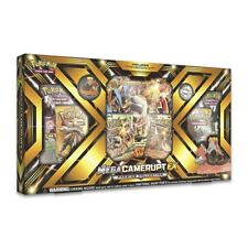 Mega M Camerupt EX Premium Collection Pokemon Card | 6 Boosters Holo + more