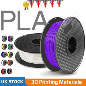 11 Colors 3D Printer Filament PLA/PLA+ 1.75mm 1KG  Equipment Filament Supplie UK