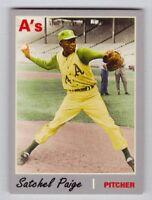 Satchel Paige '65 Kansas City Athletics Monarch Corona Classic Series #3
