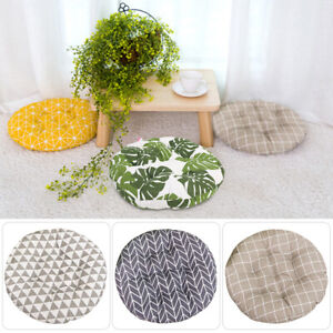 Nordic Cotton Chair Seat Round Cushions Home Thick Pads Garden Floor Pillow NEW