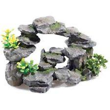 """Clásico Rocky arco plantas 10"""" Acuario Pescado ornamento"""