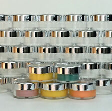 200 Cosmetic Jars Empty Beauty Containers Silver Acrylic Lids 10 Gram Ml #3011