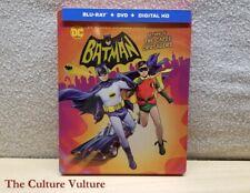Batman Return of the Caped Crusader Steelbook - Batman 66 Cartoon OOP Blu Ray