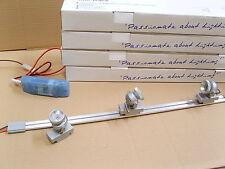 Aurora Mini Adjustable Track Light Kit With Blue Led's. Display Cabinet