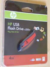 Spritzwassergeschützt Gummihülle HP USB Stick 4 GB neu