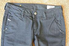 DIESEL KEES 8AA  Jeans 26X30 NWOT$200 Italian Sexy Flare Leg! Dark Wash! AMAZING
