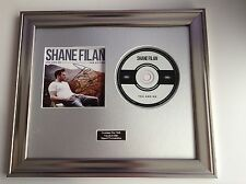 PERSONALLY SIGNED/AUTOGRAPHED SHANE FILAN -YOU & ME FRAMED PRESENTATION.WESTLIFE