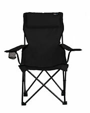 789 BLACK Classic Bubba Travel Chair Folding Camp Chair with Headrest & Pillow