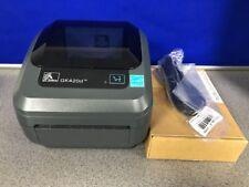 Zebra GK420D Direct Thermal Label Printer - GK42-200120-000 USB & Serial