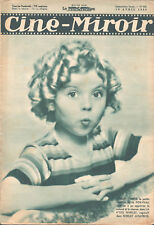 1935 FRENCH MAGAZINE SHIRLEY TEMPLE_KATE DE NAGY_GRACE MOORE_LAUREL & HARDY
