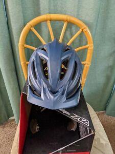 Troy Lee Designs A2 MIPS Decoy Helmet Smokey Blue Size XL/2X 60-62 CM