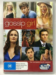 Gossip Girl - Complete Fourth Season - 5 DVD Set - AusPost with Tracking