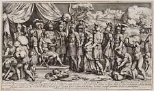 P.BARTOLI(*1615), Konsul Scipio nach der Schlacht von Carthago Nova, 1680, Rad.