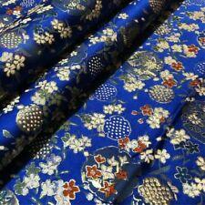 Tissus à motif Floral en soie pour loisirs créatifs