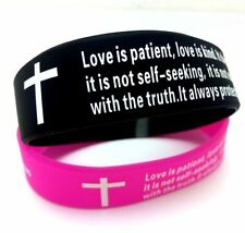 Wholesale10 couples wristband bracelets wedding Verse Band Valentine's Day Gifts