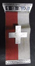 SUISSE - Médaille Concours 01 Août 1937