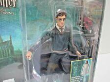 "NEW 6"" Harry Potter w/ wand & base (MOC) Order of the Phoenix (2007) NECA"