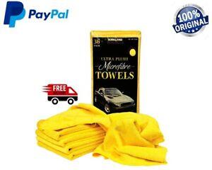 Kirkland Microfibre Ultra Plush Eurow 40cm Microfiber Car Cloth 1 X 36 Towels