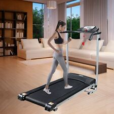 Elektrisches Laufband Jogging Fitnessgerät Heimtrainer Lauftraining LCD-Display