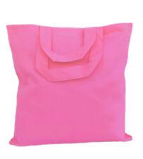 """25 Wholesale Bulk 13""""x13"""" Color Cotton Tote Bags-12 Colors"""