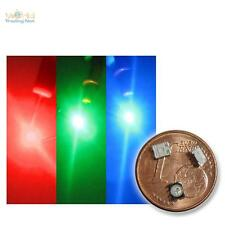 50 SMD 3chip LED SMD LED RGB MEGAbright rouge vert bleu