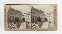 Stereoscope card - President McKinley and Admiral Dewey - Stereoview Picture