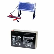 NEW UPG UB6120 6V 12AH Replacement for ES812, MX06100 & 6V Solar Panel Charger