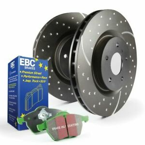 EBC Brakes S3KF1068 Stage 3 Truck/SUV Disc Brake Pad & Rotor Kit Front NEW