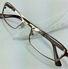 Versace Eyeglasses MOD 1041 1013 Bronze Rectangular Metal Frame Italy 51[]17 135