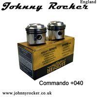 19342 1 40 NORTON 850 COMMANDO-OEM Hepolite Complet Piston Kit 8.5